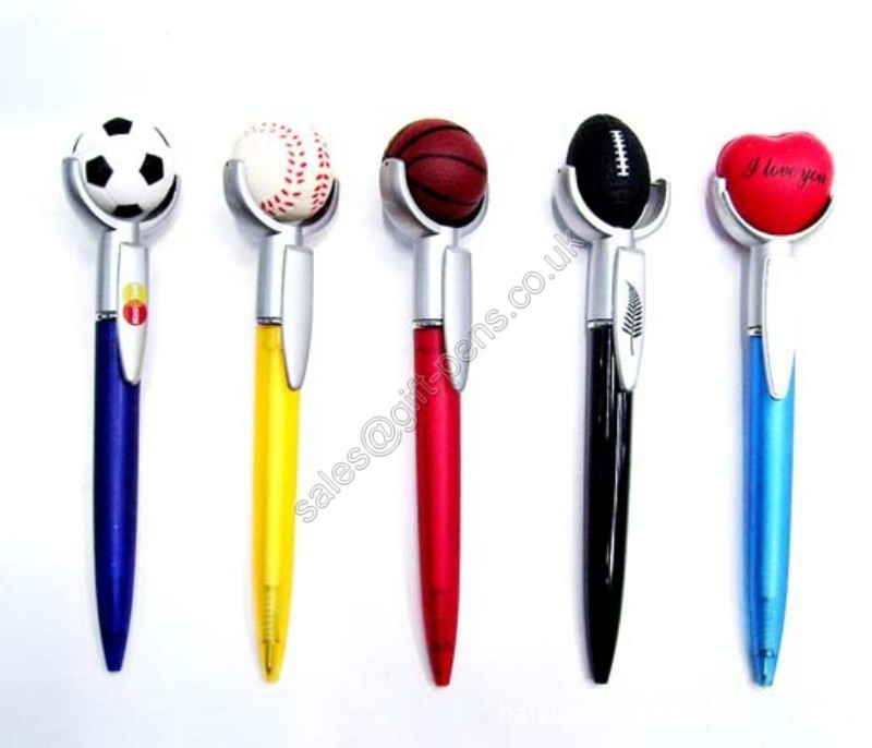 Event promotion advertising sport pen for gift purpose,event advertising ball pen