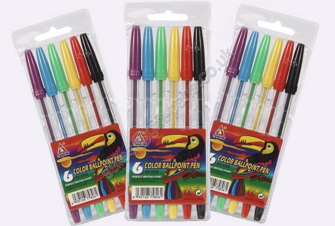 good selling cheap pen set, plastic pen set