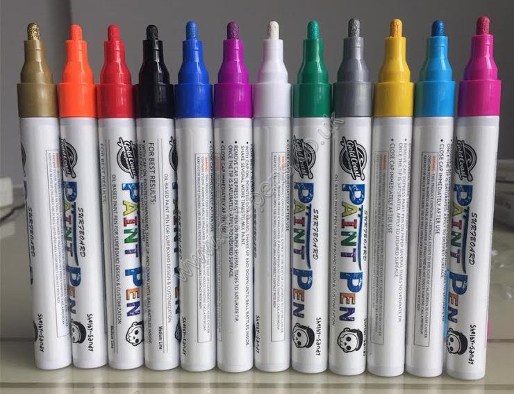 OEM custom printed acrylic tip paint marker,personalized oil based marker pen